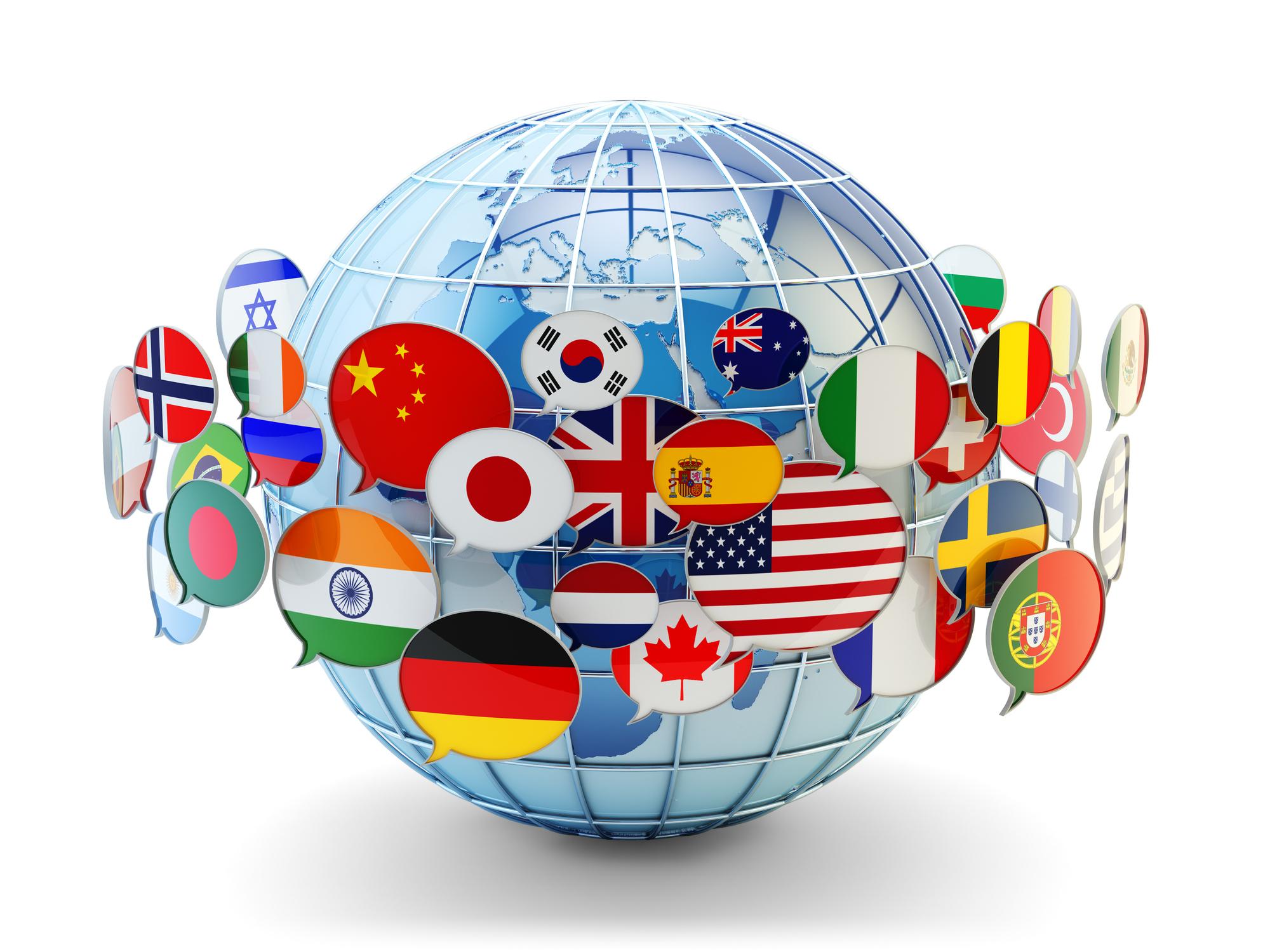 تنوع زبان ها در جهان